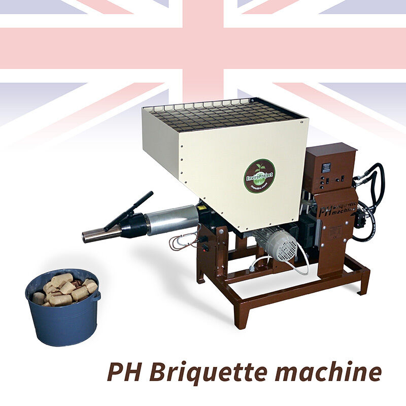 Wood Briquette Maker ~ Uk ph briquette press machine single phase log maker