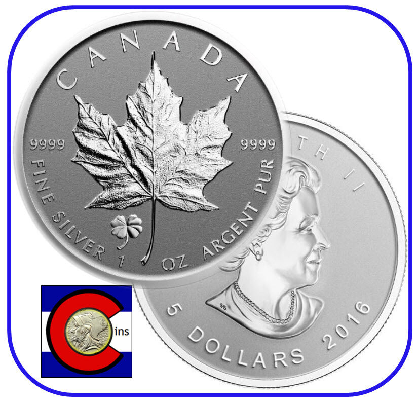 2016 Canada Yin Yang Privy Maple Leaf Reverse Proof Silver Coin in airtite