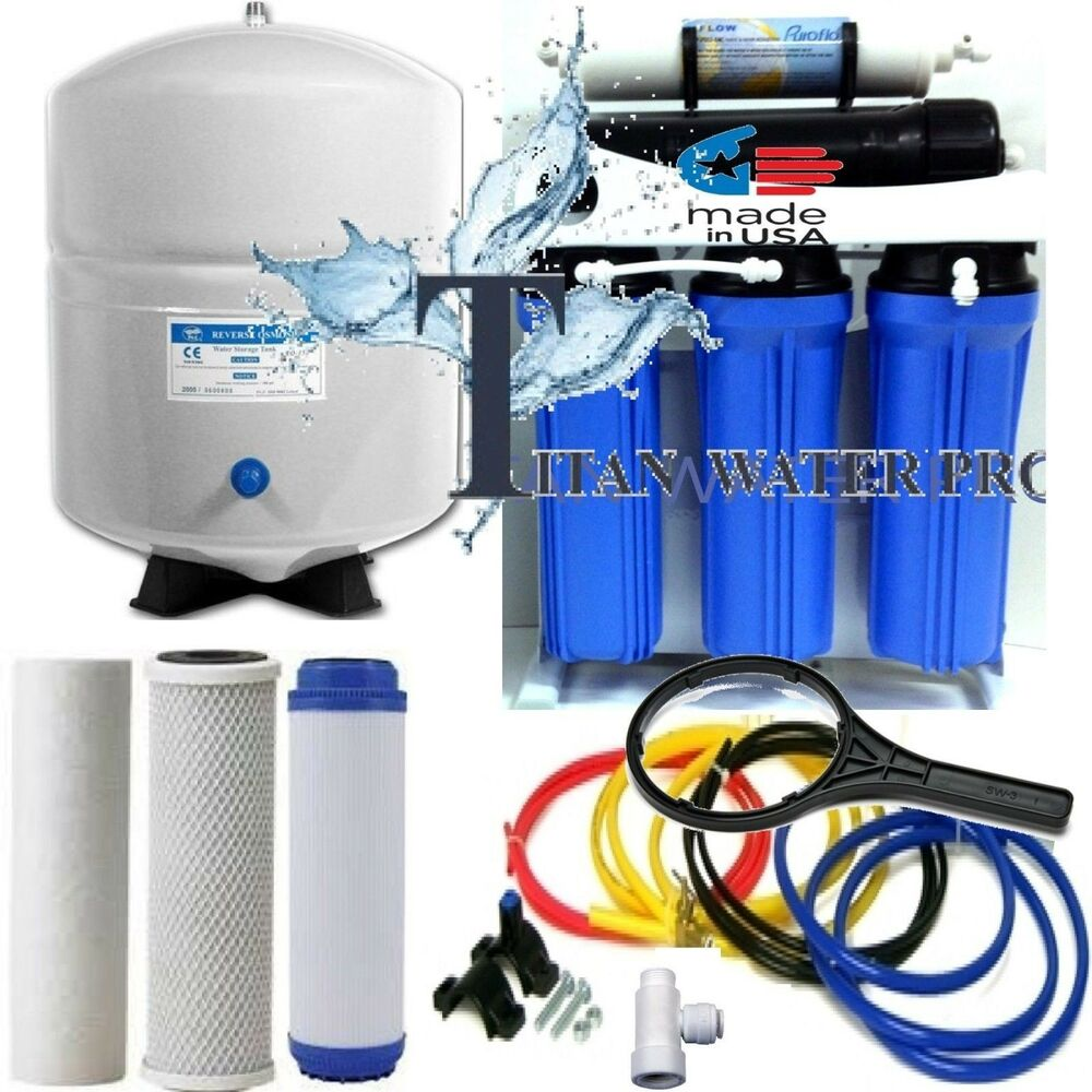5 Stage Reverse Osmosis Drinking Water Filter System 150