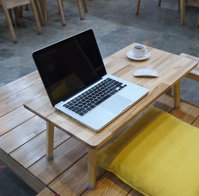 Floor Low Table Wooden Folding Coffee Study Laptop Desk Japanese Style Tatami Ebay