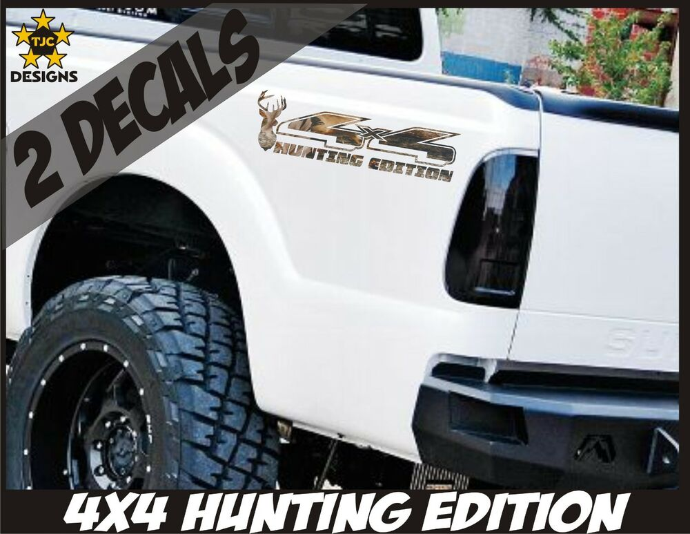 4x4 Decals, OAK TREE CAMOUFLAGE Set for Ford F150 Super Duty Deer Hunting CAMO   eBay