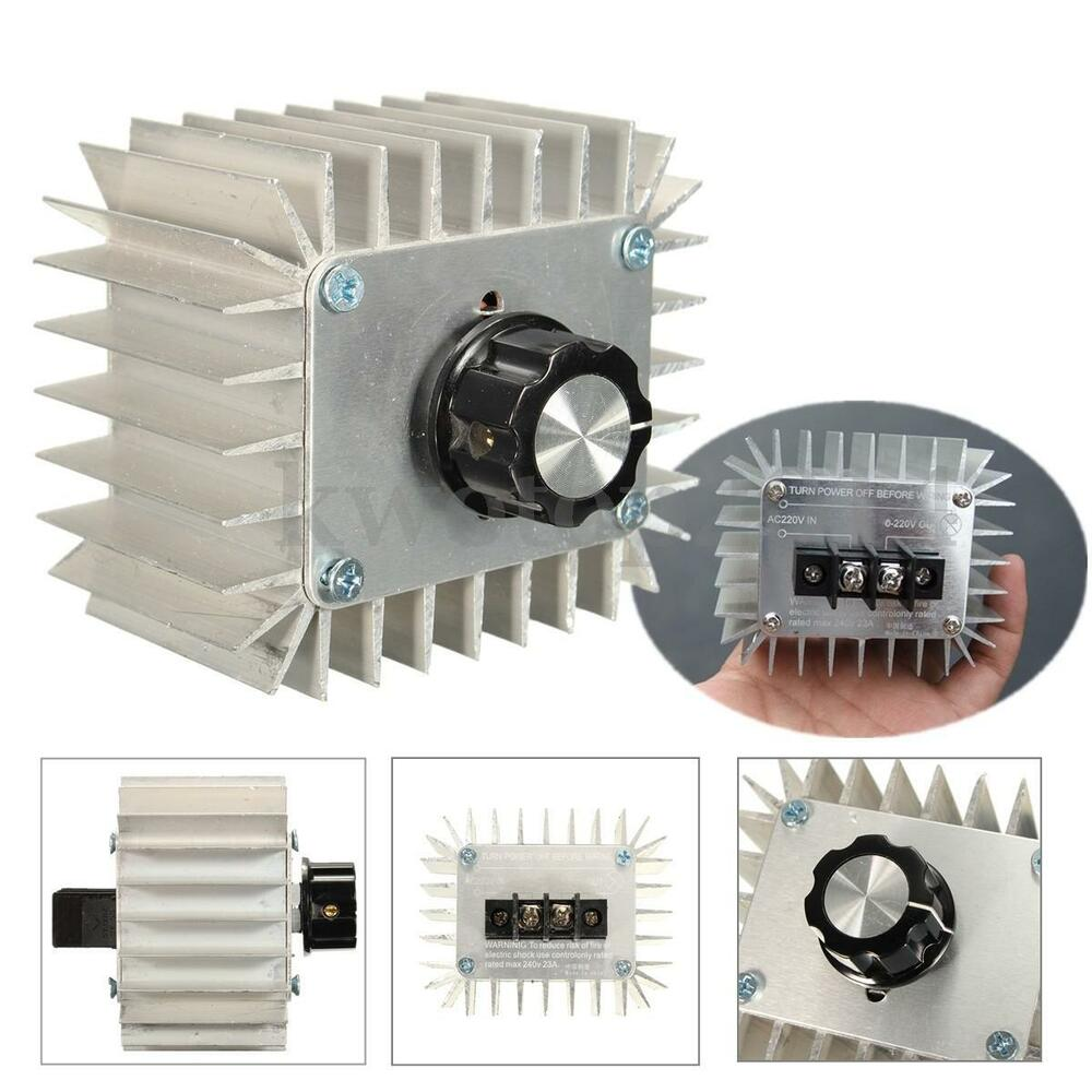 220v Ac Scr Voltage Regulator Dimmer Electric Motor Speed