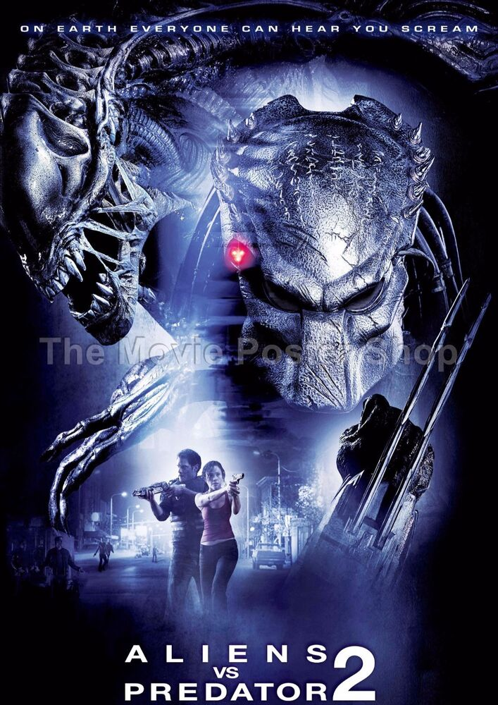 Aliens vs Predator 2 Requiem 2007 Movie Posters Classic ...