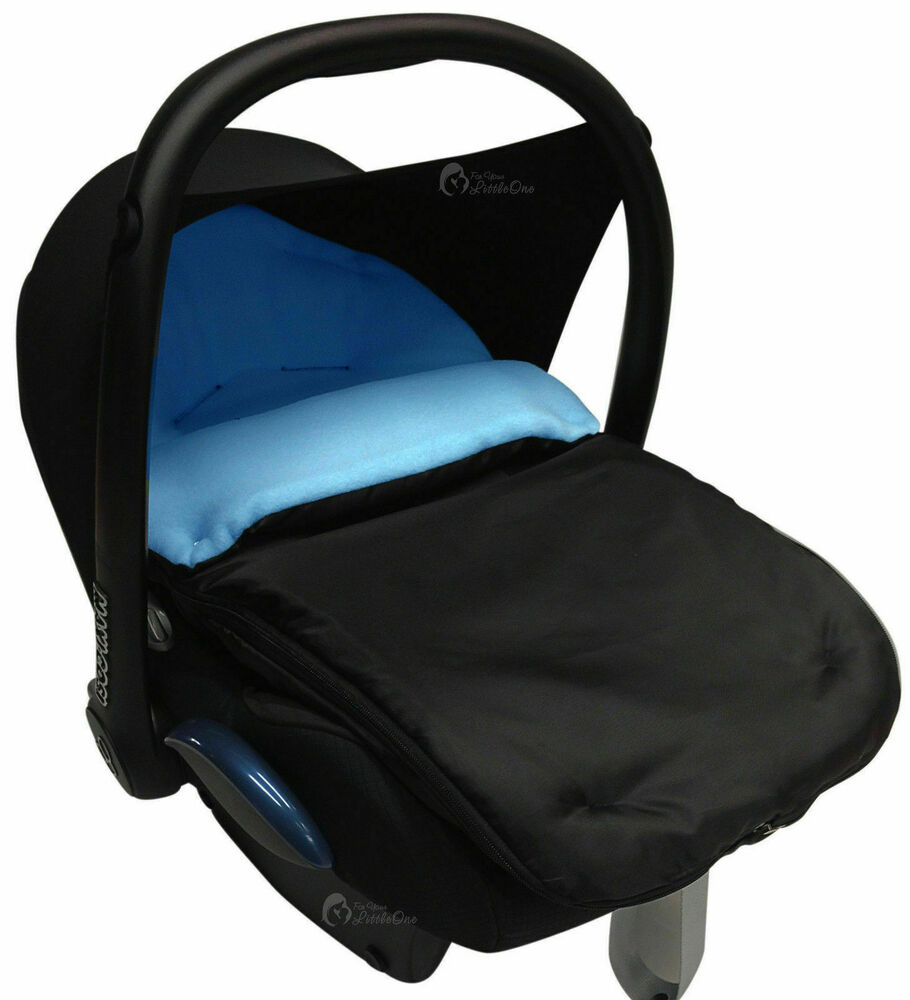 car seat footmuff cosy toes compatible with maxi cosi pebble and cabriofix 5057880001059 ebay. Black Bedroom Furniture Sets. Home Design Ideas