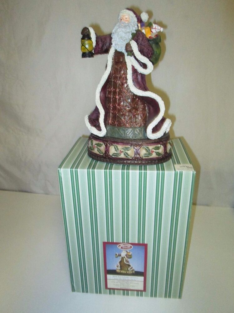 San francisco music box holly and ivy father christmas
