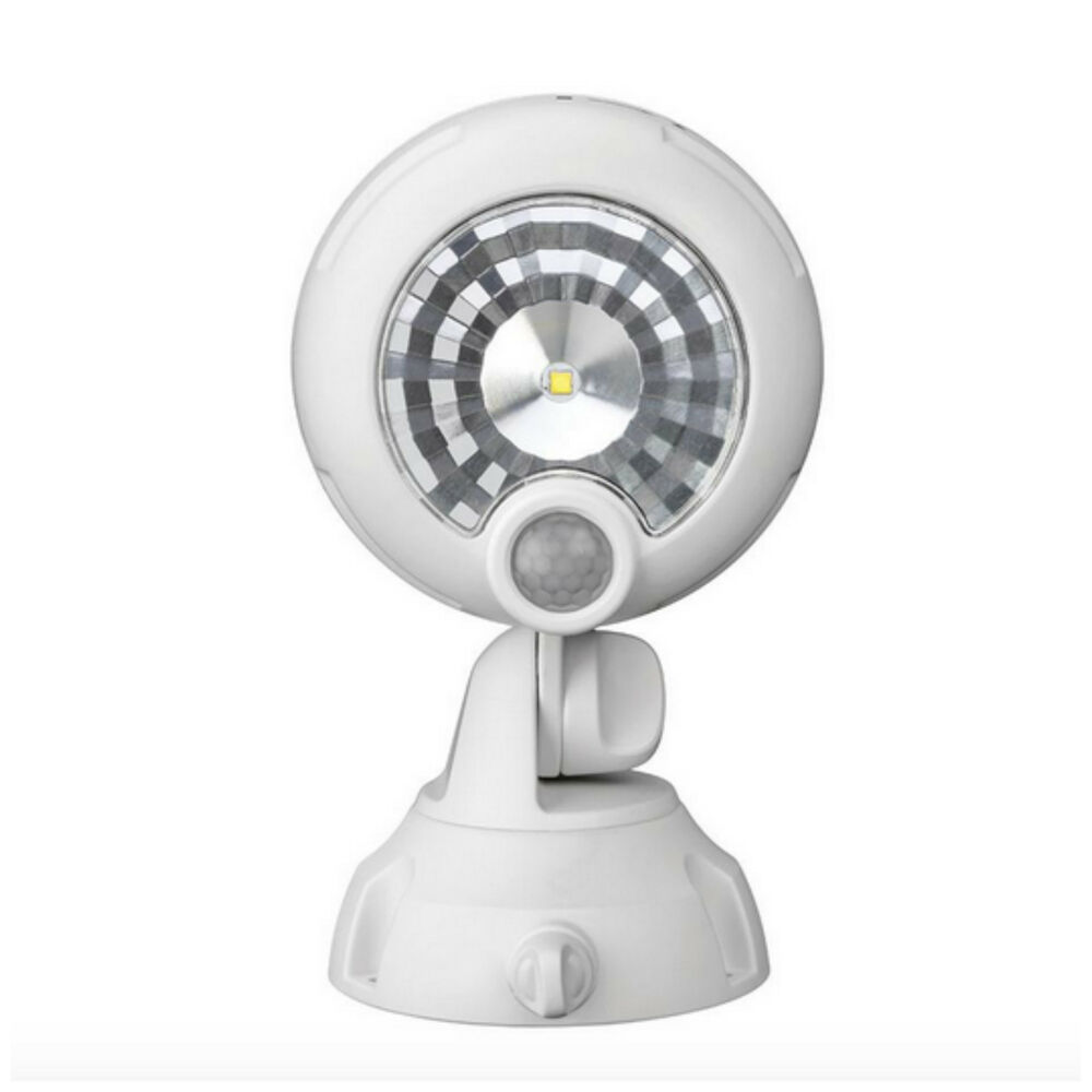 Outdoor Wireless Motion Sensor Activated Led Security Spot