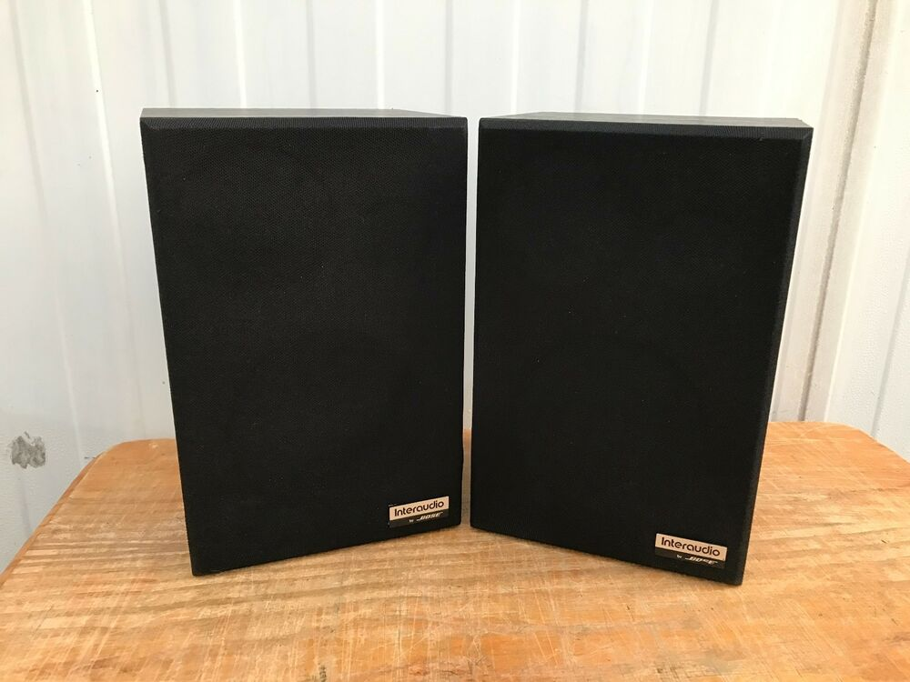 interaudio 1000xl bose lautsprecher interaudio by bose bose 1000xl ebay. Black Bedroom Furniture Sets. Home Design Ideas