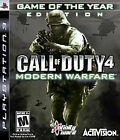 Call of Duty 4: Modern Warfare -- Game of the Year Edition (Sony PlayStation 3, 2008)