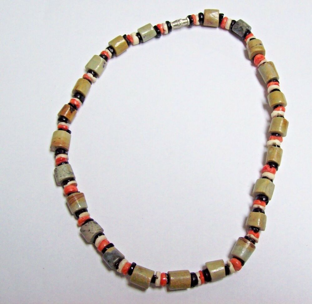 Vintage Tribal Beads African Necklace Ebay