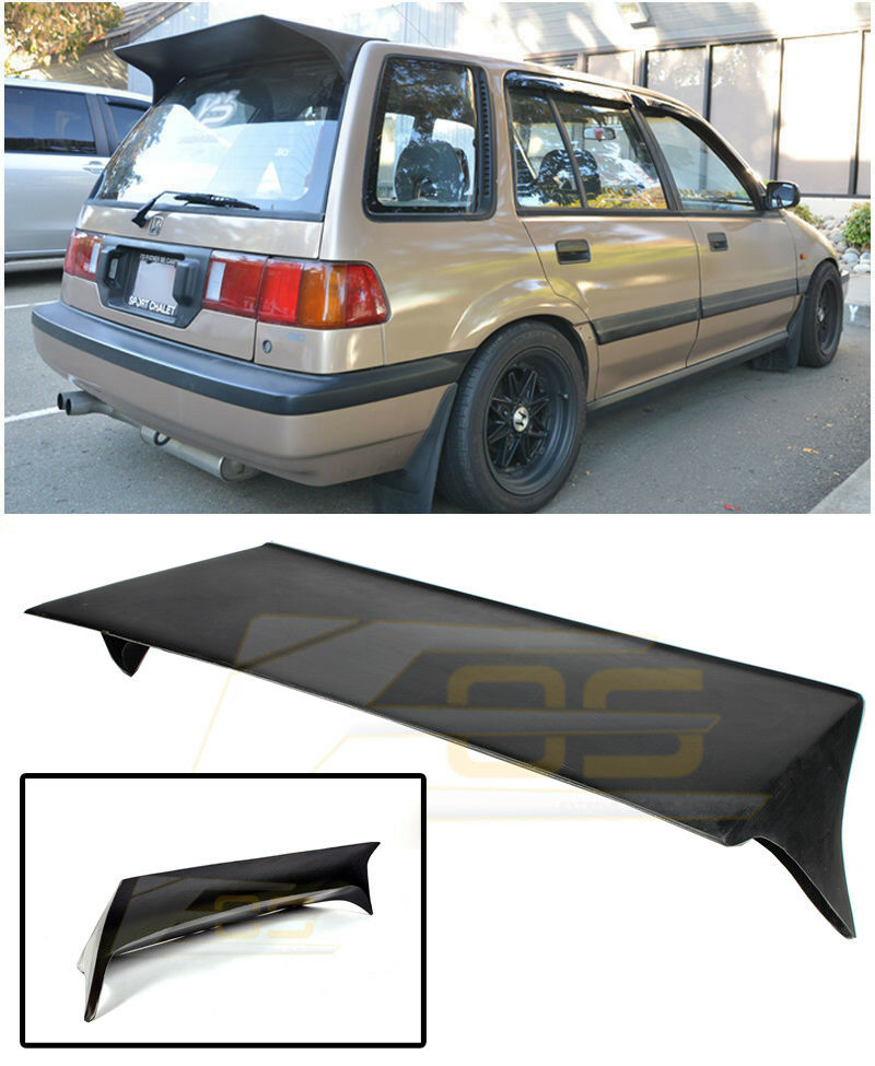 For 88-91 Honda Civic EE2 EE4 Wagon J Style Rear Roof