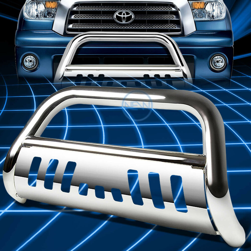 05 Toyota Tundra: Chrome SS Front Bumper Bull Bar Grille Guard For 1999-2006