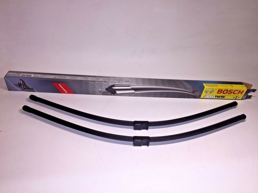 Mercedes benz bosch front window wiper blade set new s500 for Mercedes benz windshield wipers replacement