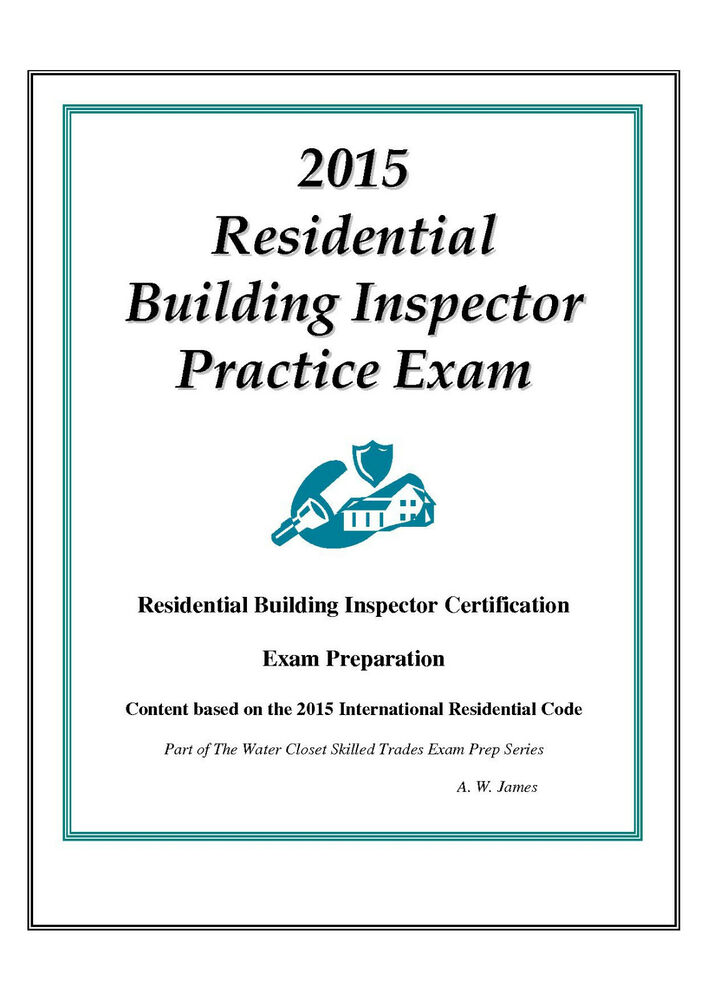 2015 ICC Residential Inspector Practice Exam Bundle on USB Flash ...