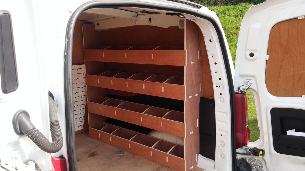 Citroen Berlingo Van Racking New Model Plywood Shelving