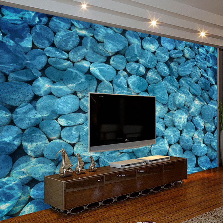 Spa Salon Wallpaper Stones Mural Roll For Wall 3d Room