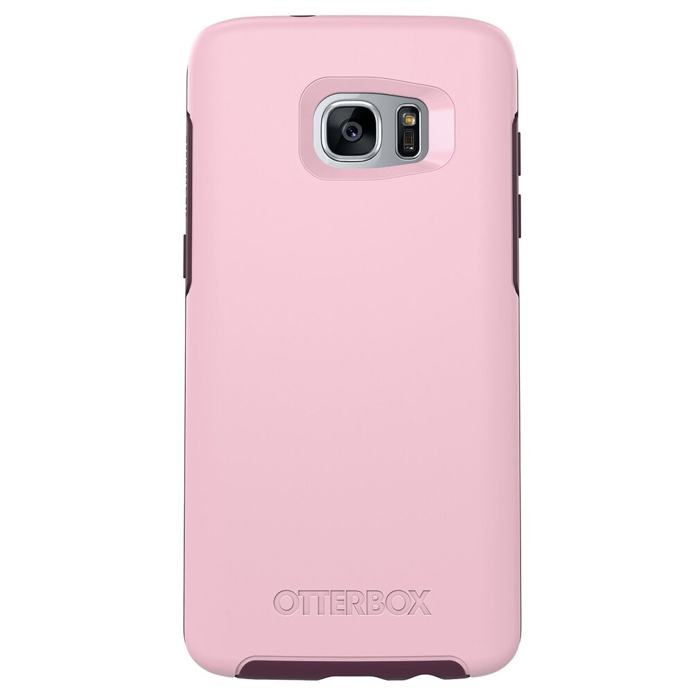 new in box oem otterbox symmetry series rose case for samsung galaxy s7 edge ebay. Black Bedroom Furniture Sets. Home Design Ideas