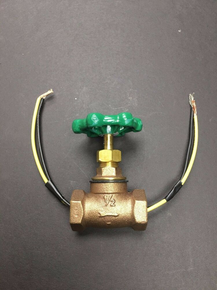 Vintage Steampunk 1 2 Quot Stop Valve Light Switch Green Handle