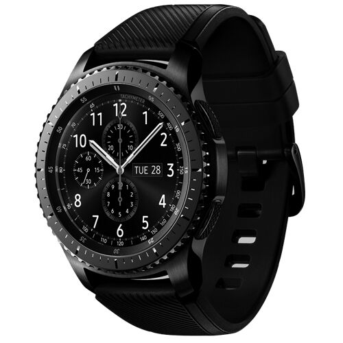 new samsung galaxy gear s3 frontier smart watch sm r760. Black Bedroom Furniture Sets. Home Design Ideas