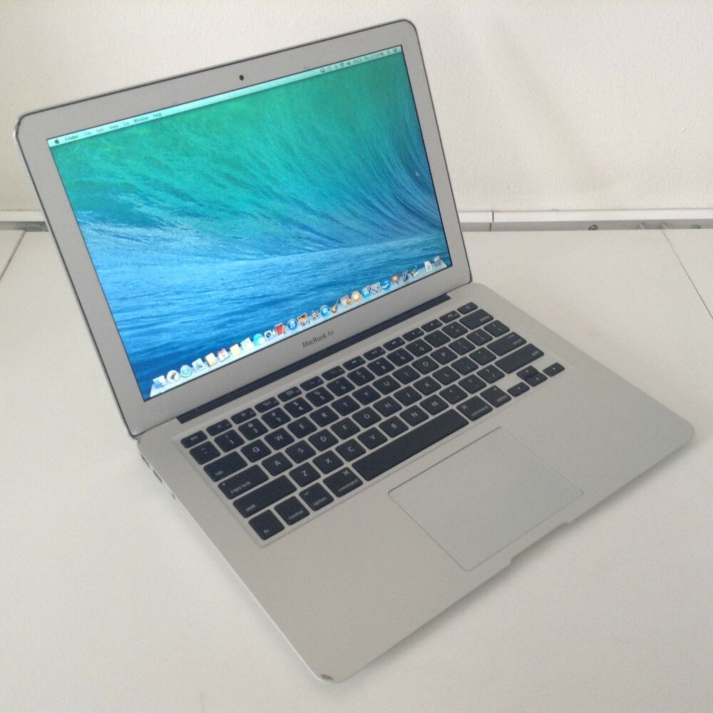 apple macbook air 13 laptop a1466 1 7ghz i5 4gb ram 64gb. Black Bedroom Furniture Sets. Home Design Ideas