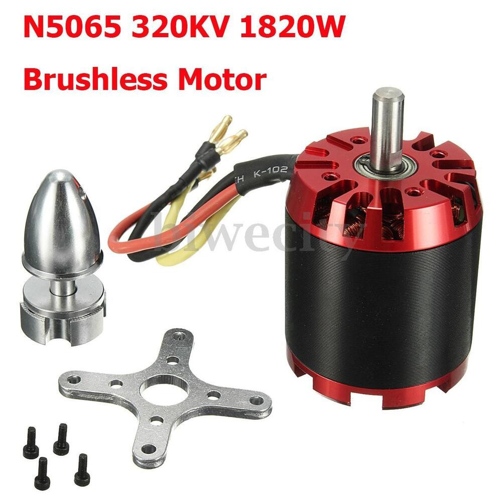 N5065 320kv 1820w Brushless Outrunner Motor Kit For Diy