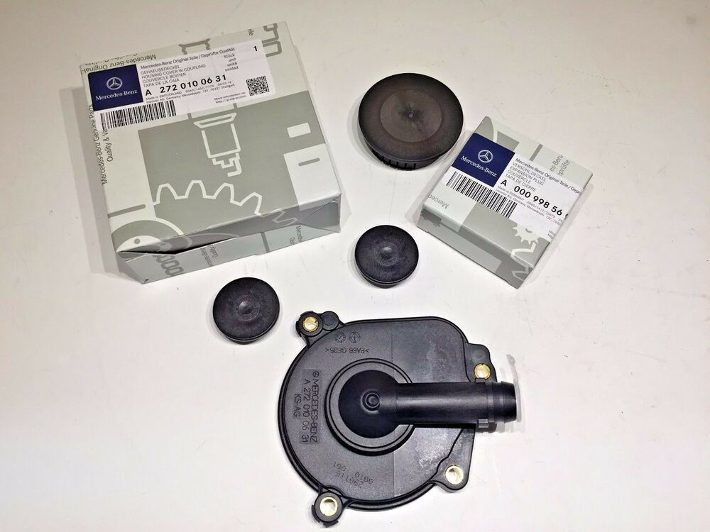 Mercedes Benz Engine Oil Separator Kit Cover W Seal