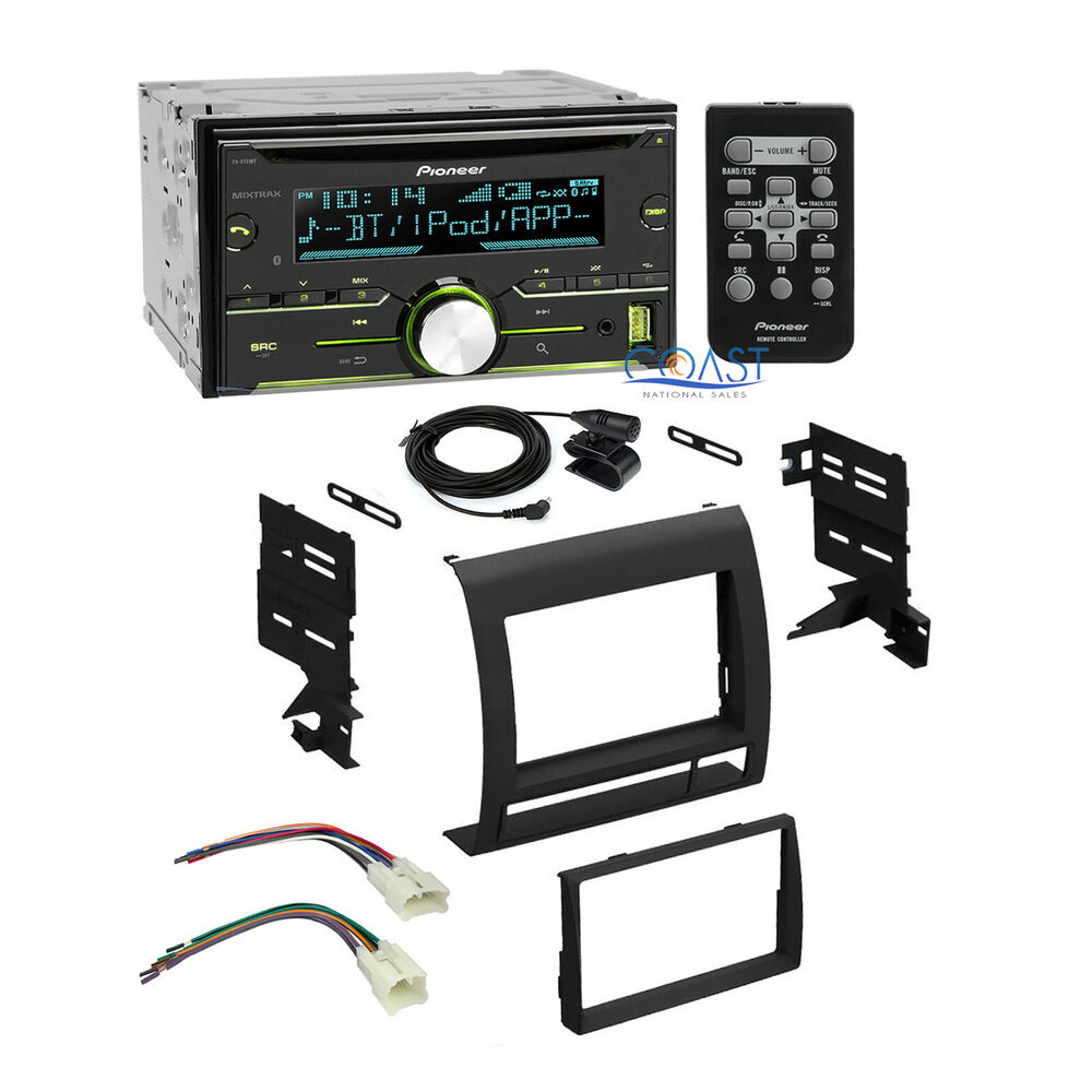pioneer car stereo radio 2 din dash kit wire harness for