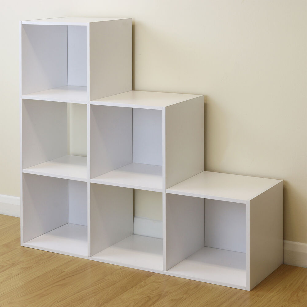 Childrens Kids Bedroom Furniture Set Toy Chest Boxes Ikea: 6 Cube Kids White Toy/Games Storage Unit Girls/Boys/Childs