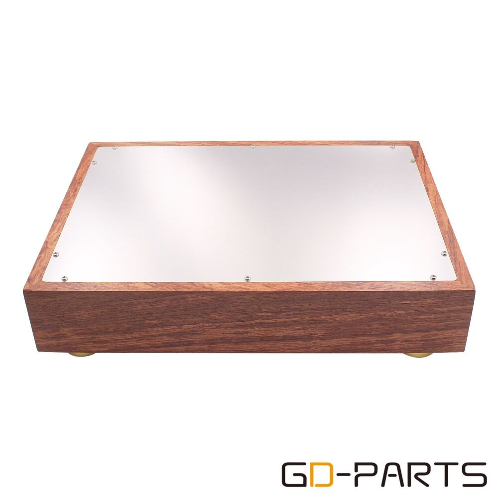 New Wood Aluminum Amplifier Chassis Enclosure For Vintage ...