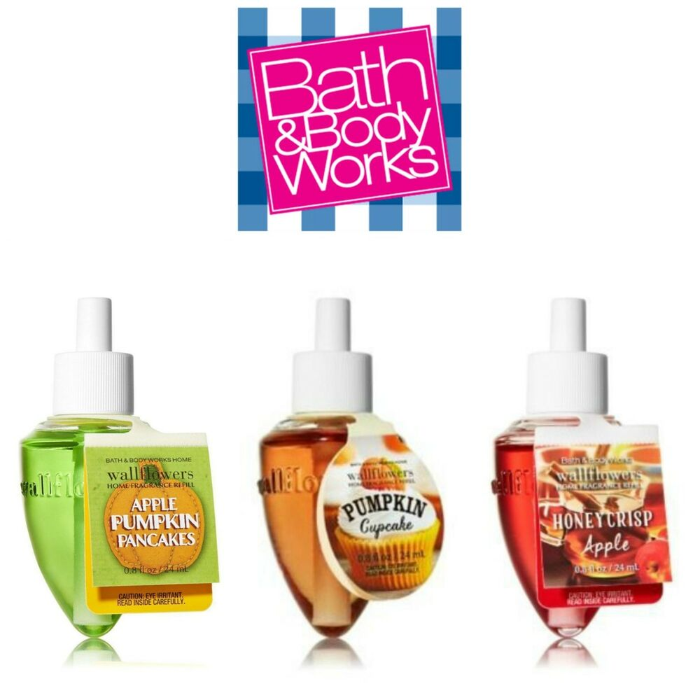 Bath body works wallflowers fragrance refill bulbs fall for Bath and body works scents best seller