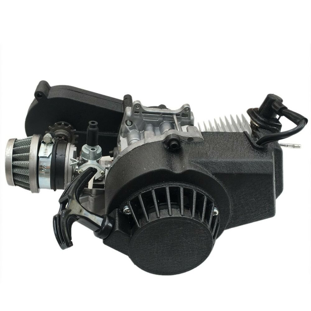 49cc 50cc 2 Stroke Engine For Pocket Bike Mini Dirt Pit