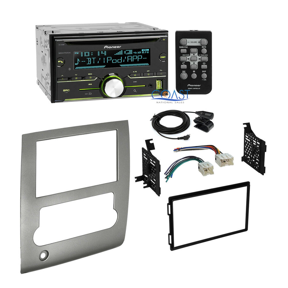 Pioneer radio stereo double din dash kit wire harness