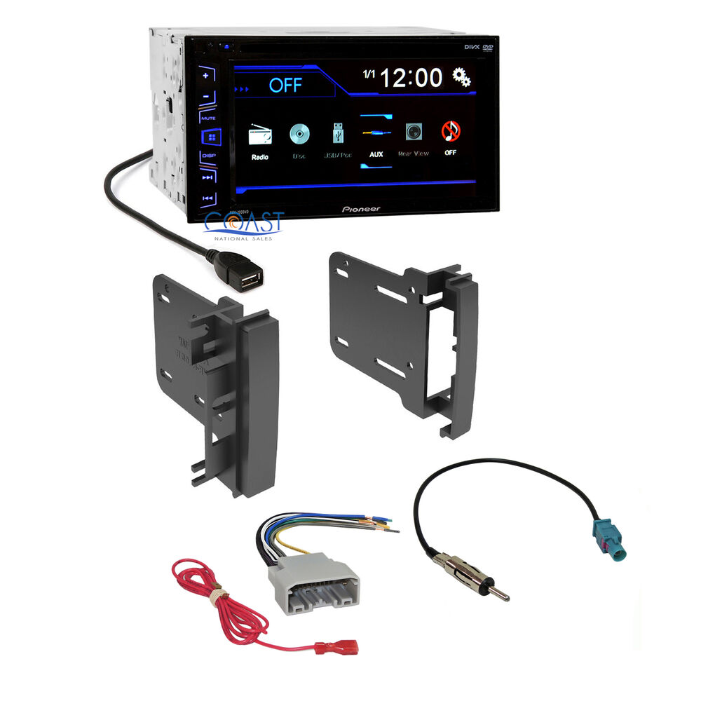 Pioneer Car Radio Stereo 2 Din Dash Kit Harness For 2007