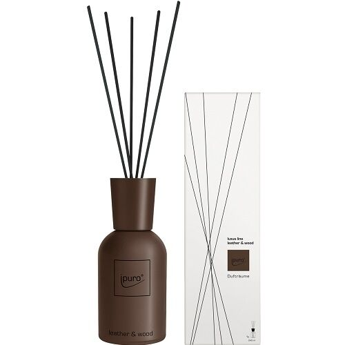 gries ipuro luxus aroma raumduft leather wood 240 ml diffuser leder holz ebay. Black Bedroom Furniture Sets. Home Design Ideas