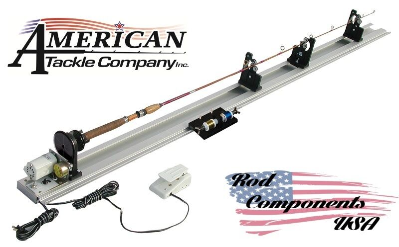 American tackle power fishing rod wrapper 110v apw rod for American fishing tackle company