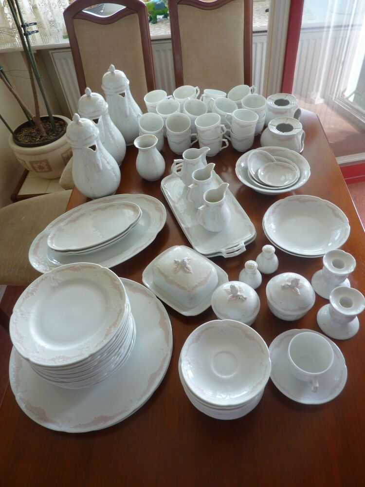 kaiser porzellan dubarry chinon 38 teile service geschirr kaffeeservice set ebay. Black Bedroom Furniture Sets. Home Design Ideas