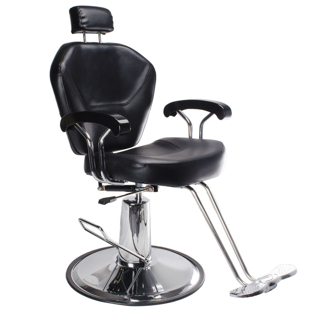 salon barber chair beauty hairdressing hydraulic lift chair reclining
