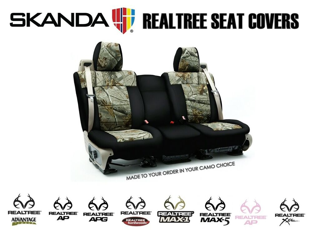 Realtree Camo Custom Tailored Seat Covers From Chevy
