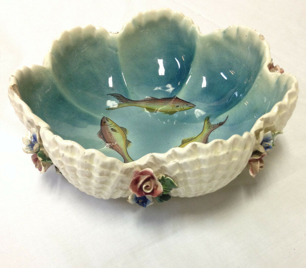 Hand Painted Fish Bowl