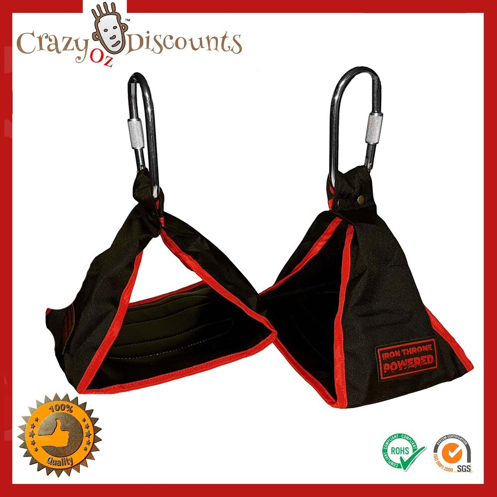 Ab Crunch Sling Abs Strap Weight Lifting Door Hanging Gym