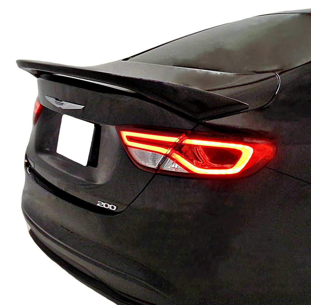 CHRYSLER 200 FACTORY STYLE UNPAINTED REAR WING SPOILER