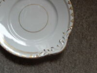 shabby chic vintage China-classic design cake, sandwich serving plate