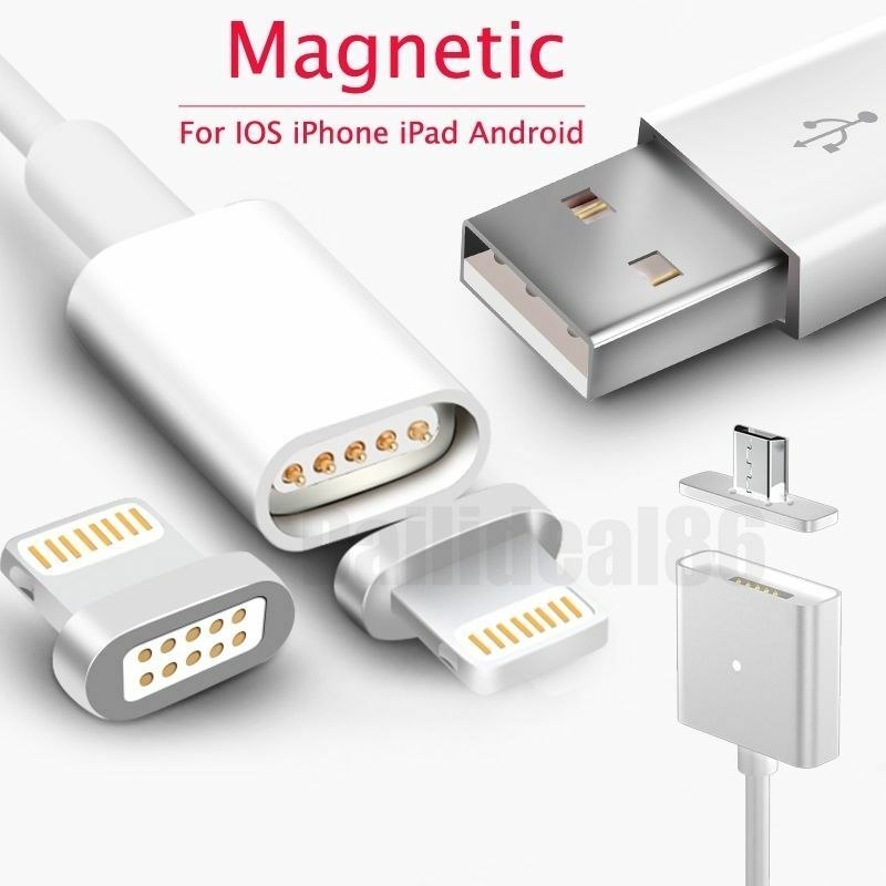 magnetic iphone charger magnetic adapter charger usb charging line cable for apple 12604