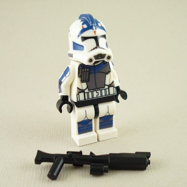 lego star wars fives clone trooper phase 2 mini figure 501th ebay. Black Bedroom Furniture Sets. Home Design Ideas
