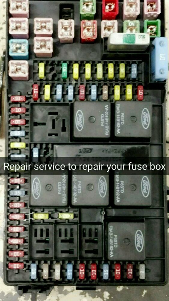 2004 Ford Excursion Fuse Box Repair Service Gas Engines