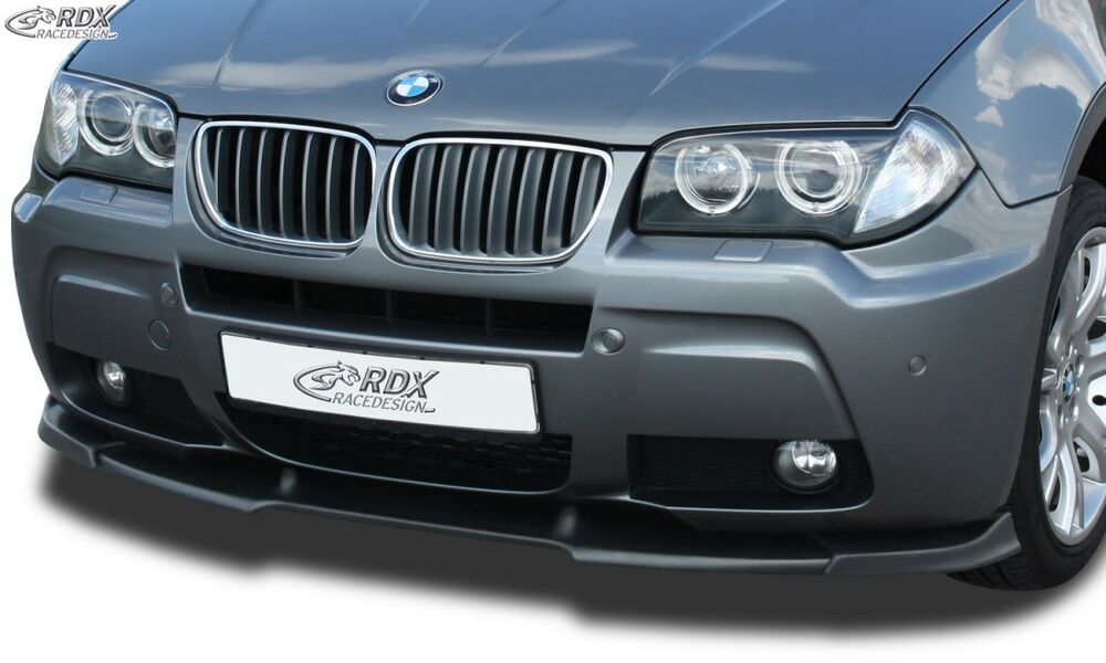 bmw x3 e83 2006 front splitter vario ebay. Black Bedroom Furniture Sets. Home Design Ideas
