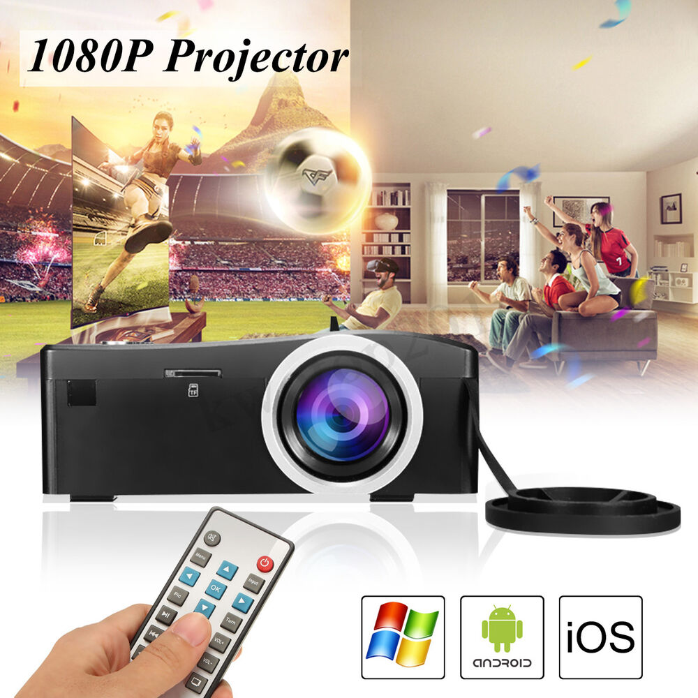 X7 Home Cinema Theater Multimedia Led Lcd Projector Hd: Mini Home Cinema Theater Movie HD Multimedia Projector TV