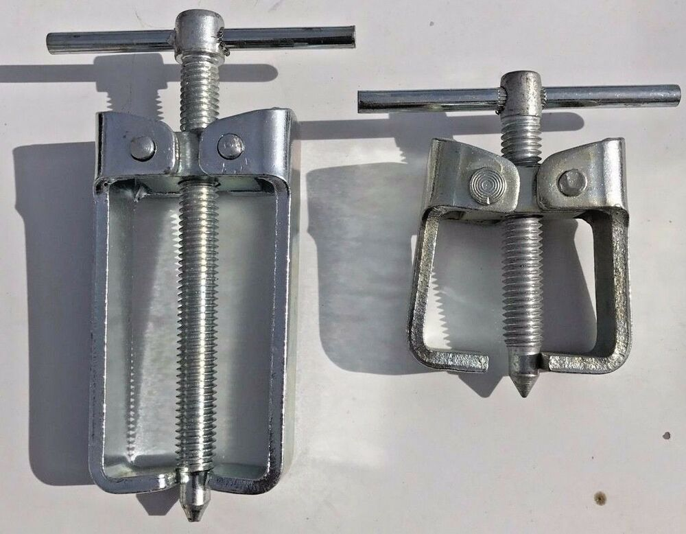 Small Gear Pullers : Pulley puller set pieces small jaw made in usa new