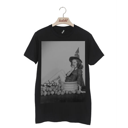 img-BATCH1 VINTAGE PINUP AND APPLE BARREL HALLOWEEN FANCY DRESS UNISEX T-SHIRT