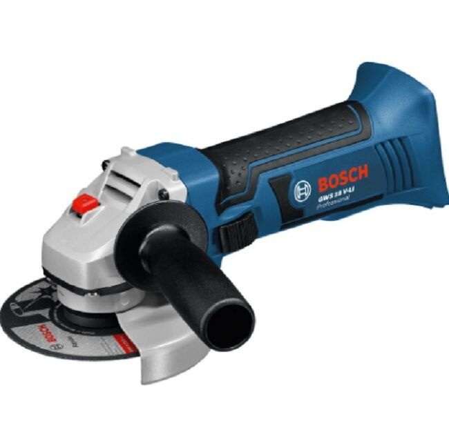 bosch gws 18 v li professional angle grinder body only power tools 115mm 4 5 ebay. Black Bedroom Furniture Sets. Home Design Ideas