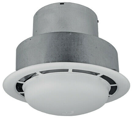 50 Cfm Ceiling Exhaust Bath Fan With Light Home Bathroom: Ventline 100 CFM Bathroom Ceiling Exhaust Fan With Light